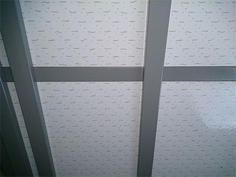 トラバーチン柄天井パネル例