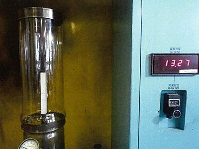 酸素指数設置状況