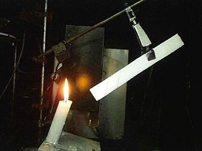 燃焼試験設置状況